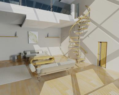 Construction mezzanine des id es et conseils pour la - Construire une mezzanine suspendue ...